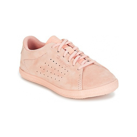 Le Coq Sportif CHARLINE INF NUBUCK girls's Children's Shoes (Trainers) in Pink