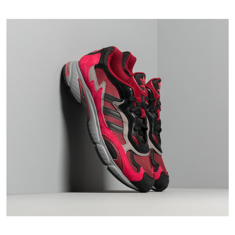 Red men's running shoes