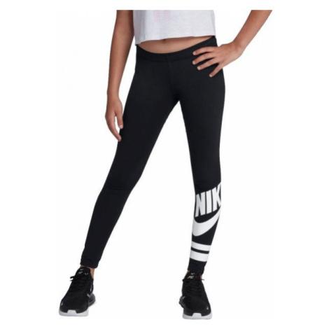 Nike NSW LGGNG FAVORITE GX3 G black - Girls' tights