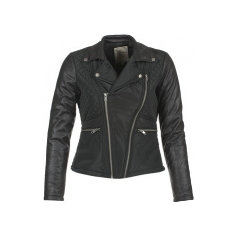 Kaporal THEO women's Leather jacket in Black