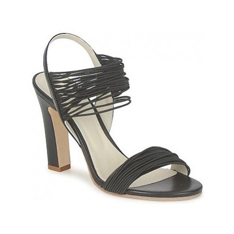 Jil Sander JS16121 women's Sandals in Black
