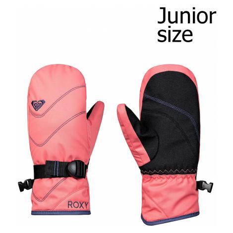 glove Roxy Jetty Solid Mitt - MHG0/Shell Pink - girl´s