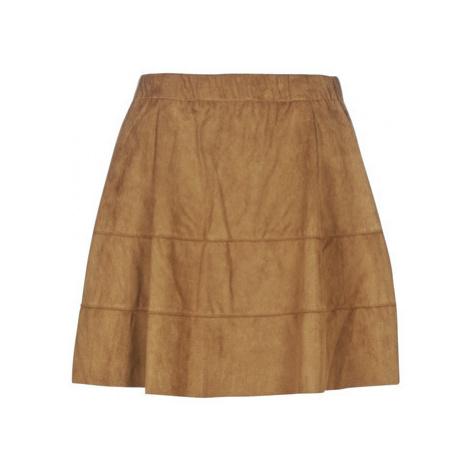 Noisy May NMLAUREN women's Skirt in Brown