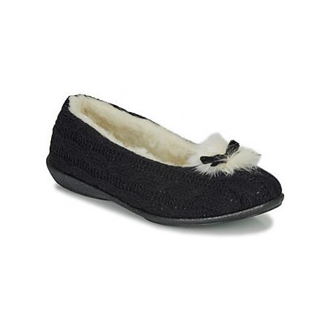 Black women's home shoes