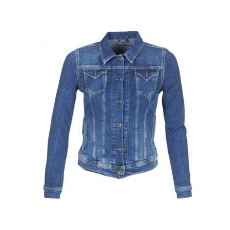 Pepe jeans THRIFT women's Denim jacket in Blue