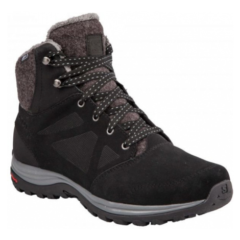 Salomon ELLIPSE FREEZE CS WP black - Women's winter shoes