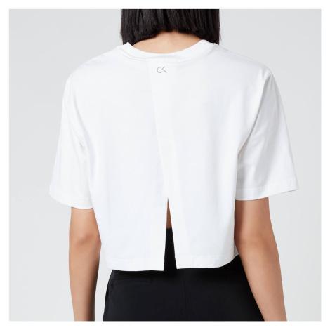Calvin Klein Performance Women's Short Sleeve Cropped T-Shirt - Bright White