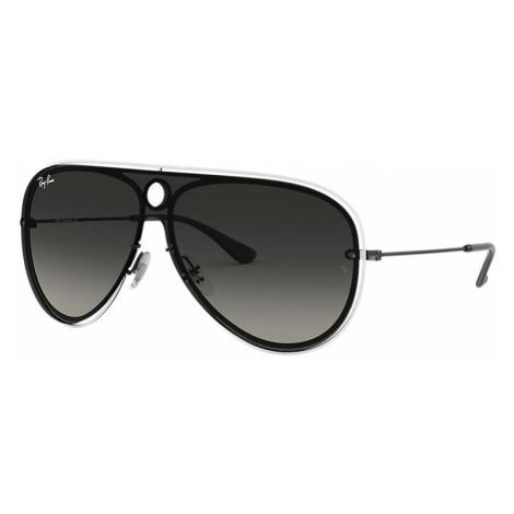 Ray-Ban Rb3605n Unisex Sunglasses Lenses: Gray, Frame: Black - RB3605N 909511 01-32