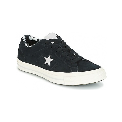 Converse One Star-Ox women's Shoes (Trainers) in Black
