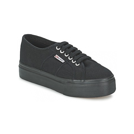 Superga 2791 COTEW LINEA women's Shoes (Trainers) in Black