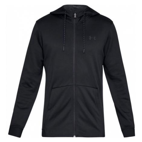 Under Armour FLEECE FZ HOODIE black - Men's hoodie