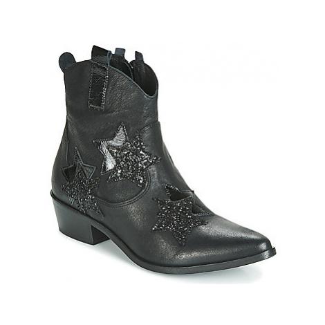 Mimmu 374Z1M women's Low Ankle Boots in Black