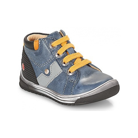 GBB RENOLD boys's Children's Shoes (High-top Trainers) in Blue