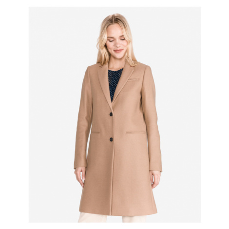 Tommy Hilfiger Belle Coat Brown Beige