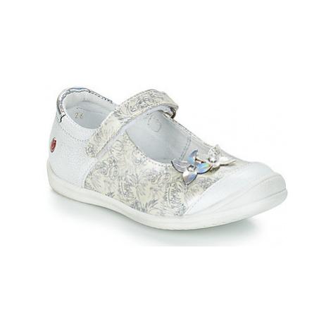 GBB SACHIKO girls's Children's Shoes (Pumps / Ballerinas) in White