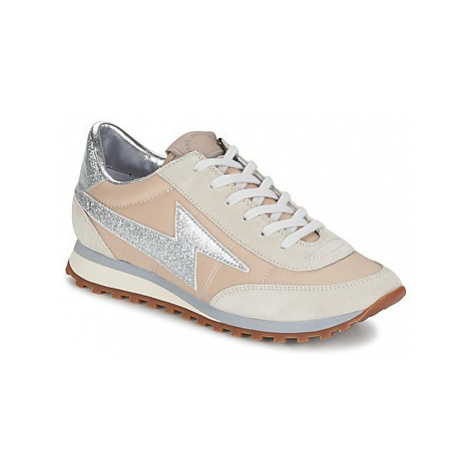 Marc Jacobs ASTOR LIGHTENING BOLT women's Shoes (Trainers) in Beige