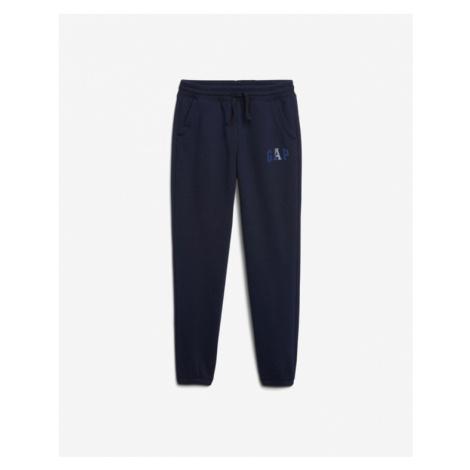 Blue boys' sports trousers