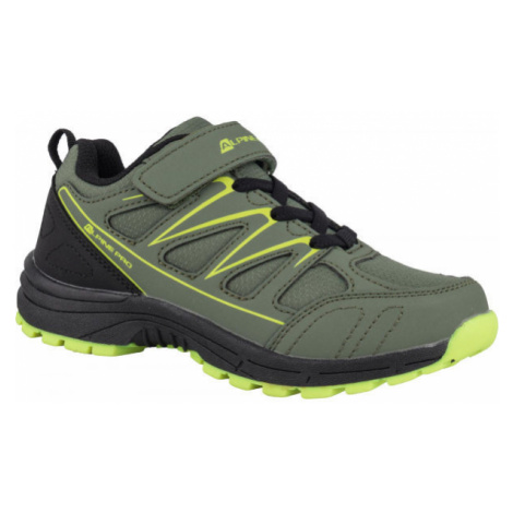 ALPINE PRO AVIORE green - Kids' outdoor shoes