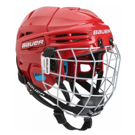 Bauer PRODIGY COMBO YTH red - Kids' helmet with a facemask
