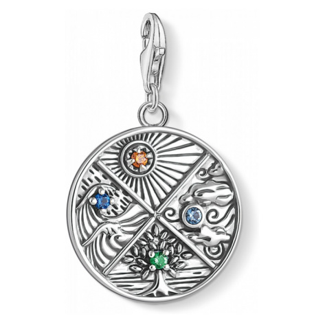 Thomas Sabo Jewellery Earth Water Air Fire Four Elements Charm 1814-945-7