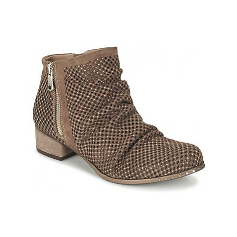 Mimmu CAMTA women's Mid Boots in Brown