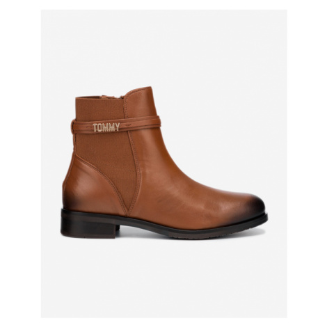 Tommy Hilfiger Block Branding Ankle boots Brown