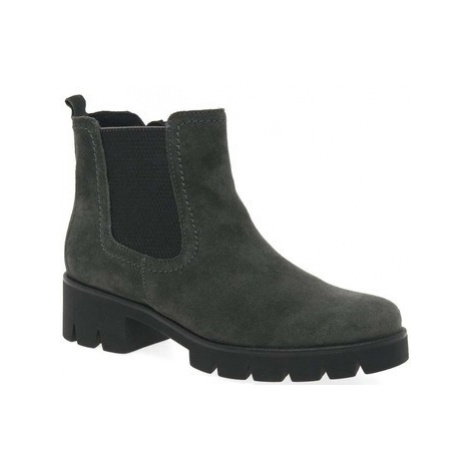 Gabor Bodo Womens Suede Chelsea Boots women's Mid Boots in Grey