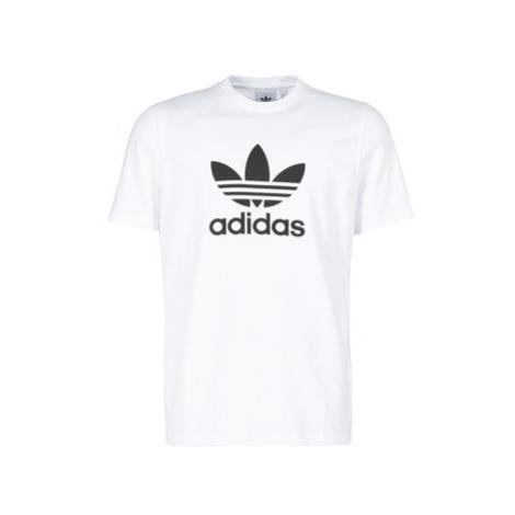Adidas TREFOIL T-SHIRT men's T shirt in White