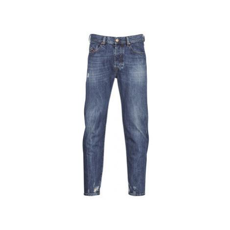 Diesel MHARKY men's Skinny Jeans in Blue