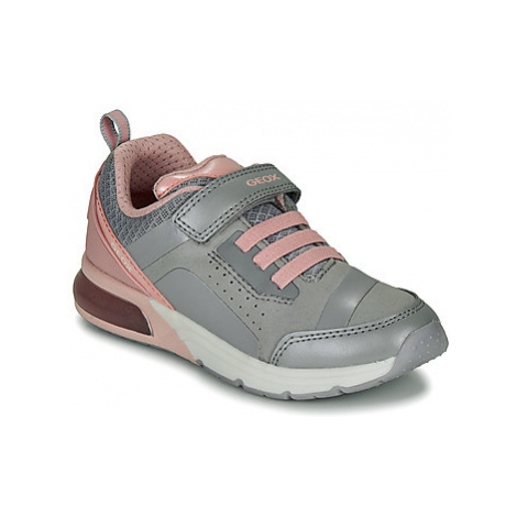Geox J SPACECLUB GIRL C girls's Children's Shoes (Trainers) in multicolour