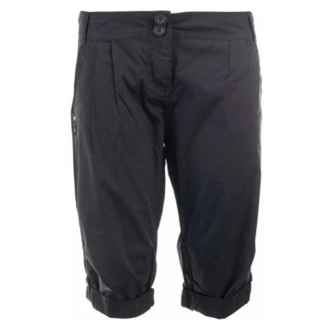ALPINE PRO AMUNA 2 black - Women's 3/4 length trousers