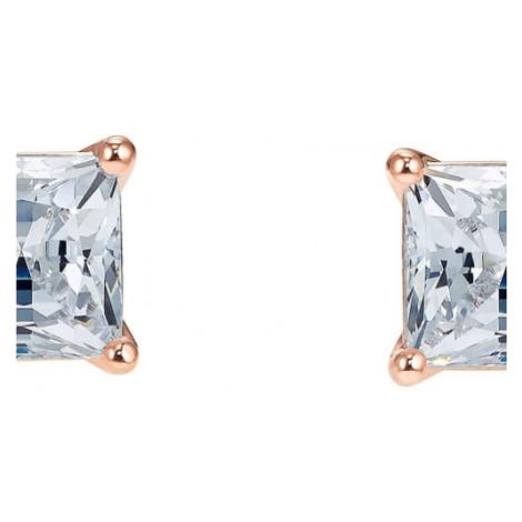 Ladies Swarovski Jewellery Attract Square Studs