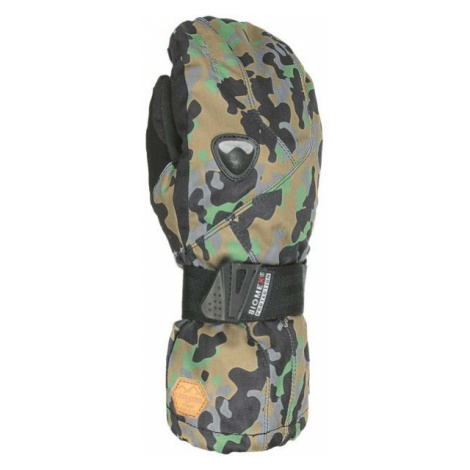 Level FLY JR MITT dark green - Children's snowboard gloves