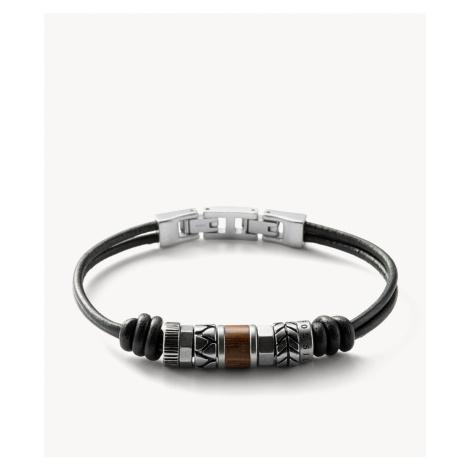 Fossil Men's Rondell Bracelet - Silver