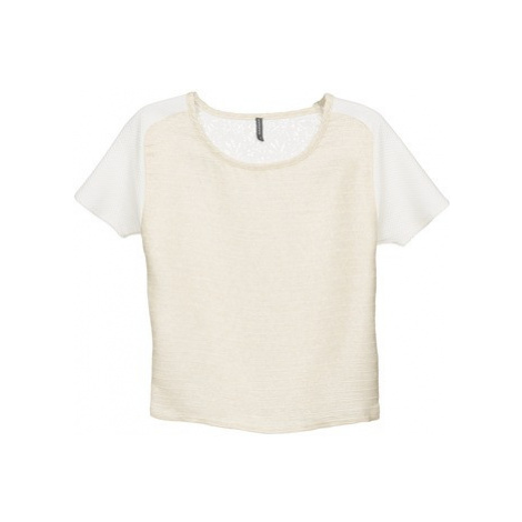 Naf Naf OMATHILDE women's T shirt in White