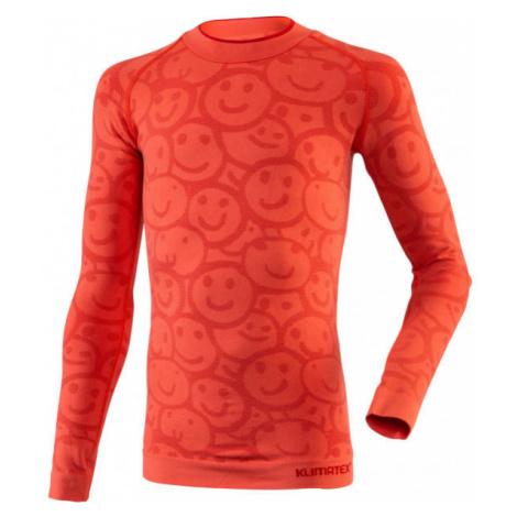 Klimatex MORAMBO pink - Children's functional thermal T-shirt