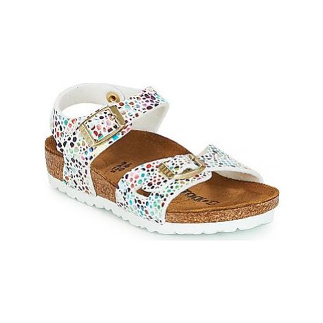 Birkenstock RIO girls's Children's Sandals in White
