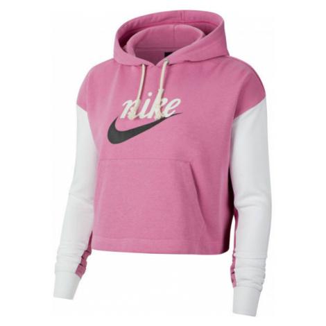 Nike NSW VRSTY HOODIE FT W pink - Women's sweatshirt