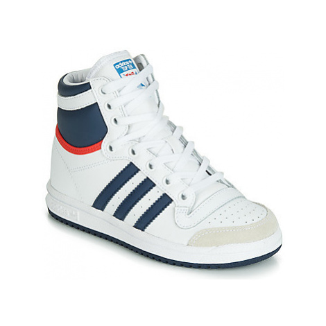 Adidas TOP TEN HI C girls's Children's Shoes (High-top Trainers) in White