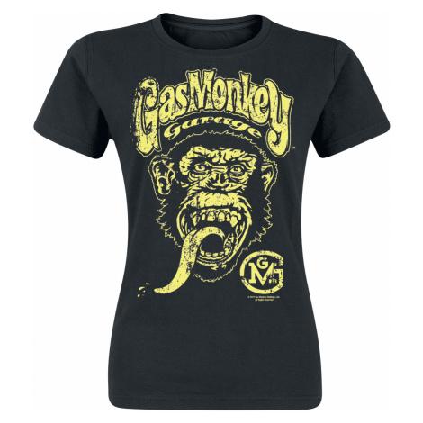 Gas Monkey Garage - Big Brand Logo - Girls shirt - black