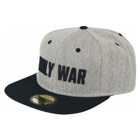 Warhammer 40,000 - Only War - Snapback Cap - grey-black