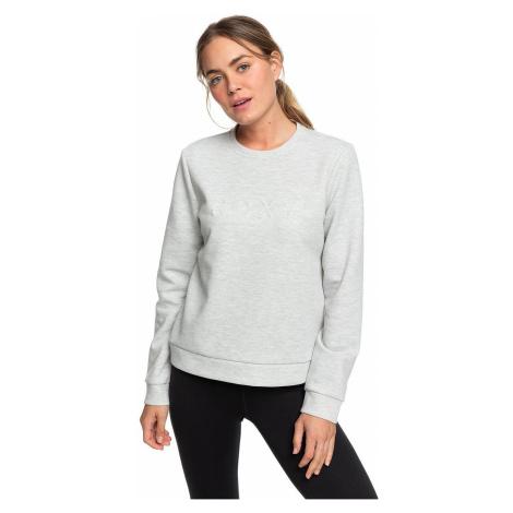 sweatshirt Roxy Loose Yourself - SGRH/Heritage Heather - women´s