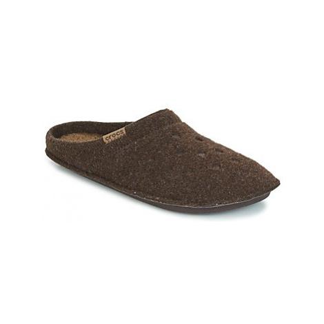 Crocs CLASSIC SLIPPER women's Slippers in Brown