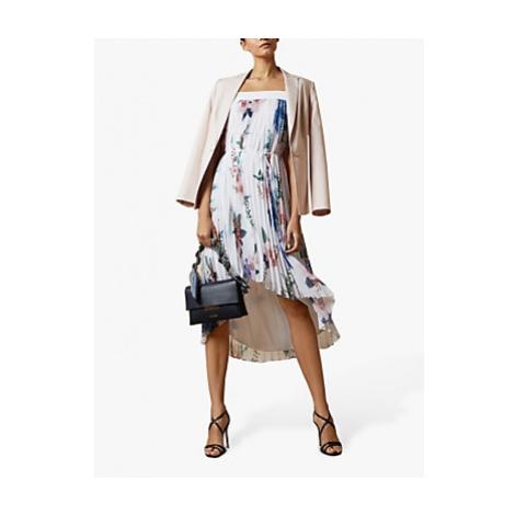 Ted Baker Luner Floral Midi Dress, White