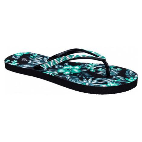 ALPINE PRO NANKA black - Women's flip-flops