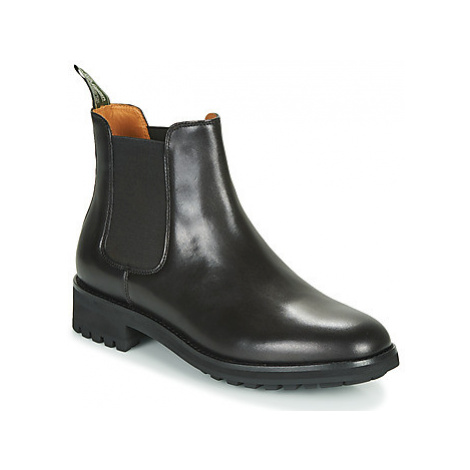 Polo Ralph Lauren BRYSON CHLS men's Mid Boots in Black
