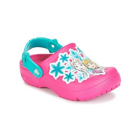 Crocs CROCS FUN LAB FROZEN CLOG K girls's Children's Clogs (Shoes) in Pink