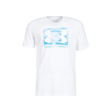 Under Armour BOXED SPORTSTYLE men's T shirt in White