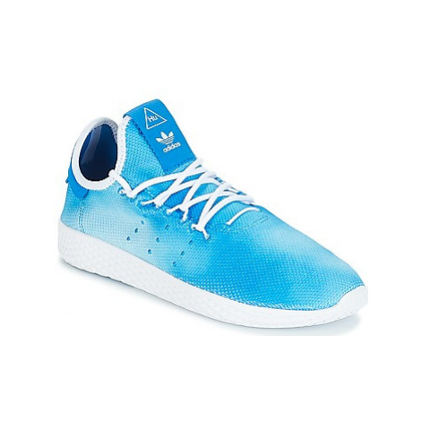 Adidas PW TENNIS HU J girls's Children's Shoes (Trainers) in Blue