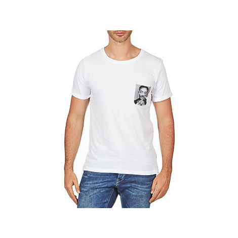 Eleven Paris WOLYPOCK MEN men's T shirt in White